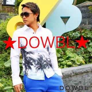 ダブル(DOWBL)の★DOWBL★  リゾート 白シャツ(シャツ)