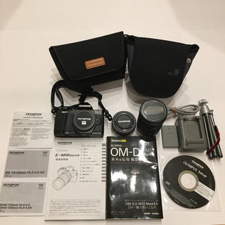 迅速発送 OLYMPUS OM-D E-M10 MarkII ダブルズーム 美品