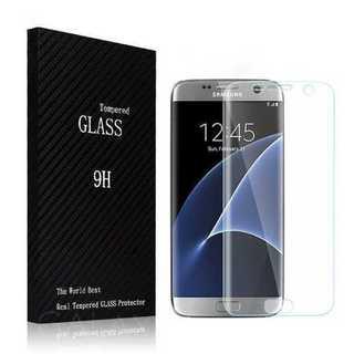 透明 GALAXY S7 S8 +エッジ  全面保護フィルム 強化ガラス(保護フィルム)