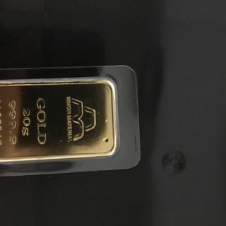 インゴット 20g(金属工芸)