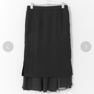 KBF+ シフォンセットスカート
