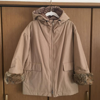 カミシマチナミ(KAMISHIMA CHINAMI)の美品 カミシマチナミ 中綿コート(モッズコート)