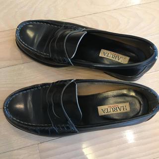 ハルタ(HARUTA)のHARUTA ローファー 黒 24EEE(ローファー/革靴)