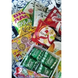 カルビー(カルビー)のお菓子スナックチョコレート詰め合わせセット7種類新品カルビーロッテ/セコマ揚げ(菓子/デザート)