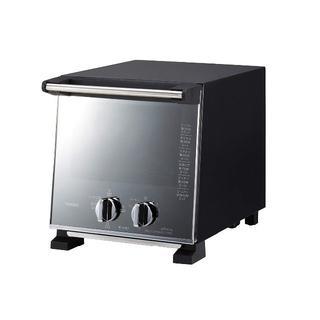 ツインバード(TWINBIRD)のツインバード スリムオーブントースター パールブラック(調理機器)