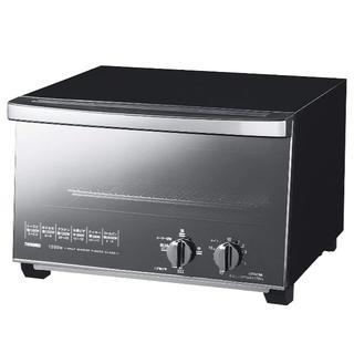 ツインバード(TWINBIRD)のTWINBIRD ミラーガラスオーブントースター ブラック ツインバード(調理機器)