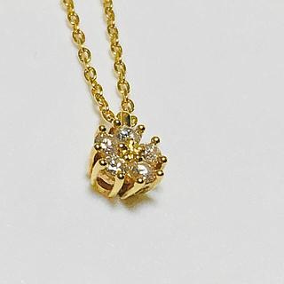 タサキ(TASAKI)のTASAKI ダイヤモンドネックレス k18(ネックレス)