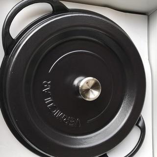 バーミキュラ(Vermicular)のオーブンポットラウンド26cmSUKIYAKI 【マットブラック】SUMI(炭)(鍋/フライパン)