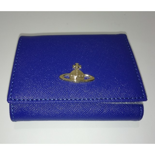 Vivienne Westwood(ヴィヴィアンウエストウッド)の『新品』 ヴィヴィアンウエストウッド ブルー べ レディースのファッション小物(財布)の商品写真