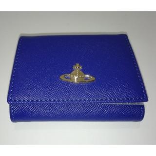 ヴィヴィアンウエストウッド(Vivienne Westwood)の『新品』 ヴィヴィアンウエストウッド ブルー べ(財布)