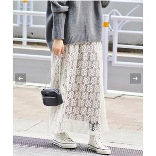 IENA - 新品タグ付き イエナ フレアーフラワーレーススカート サイズ36