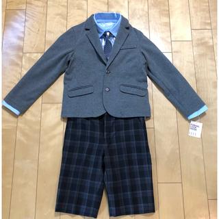 2a7288aa63214 エル(ELLE)の卒園式 入学式 男児 スーツ 130 ELLE en noir