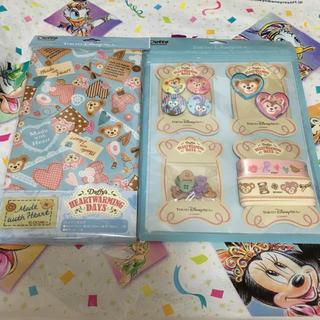 Disney - 新作☆ディズニー ダッフィー  ハートウォーミング  手芸セット カットクロス