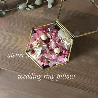pinkpink  ring pillow(リングピロー)