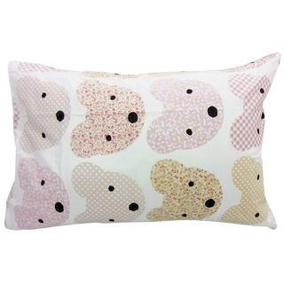 ニシカワ(西川)の京都西川【枕カバー】43×63cm くまさん柄(ピンク)Pillowcase(シーツ/カバー)