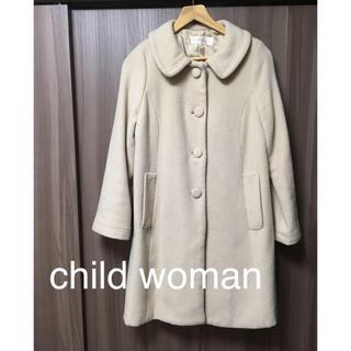 チャイルドウーマン(CHILD WOMAN)のchild woman コート(ロングコート)