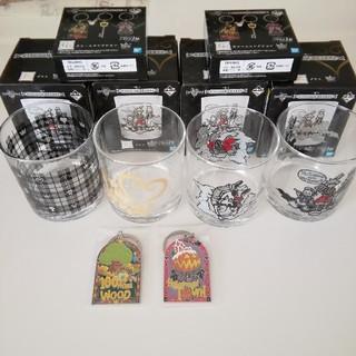 スクウェアエニックス(SQUARE ENIX)のキングダムハーツ一番くじ グラスとチャーム(キャラクターグッズ)