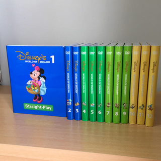 Disney - 未開封多数 最新版 美品 DWE ストレートプレイDVD ディズニー英語システム
