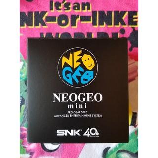ネオジオ(NEOGEO)のNEOGEO mini 本体 新品(家庭用ゲーム本体)