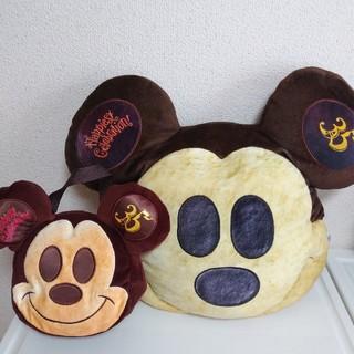 Disney - ミッキーパン クッション スーベニア ランチケース