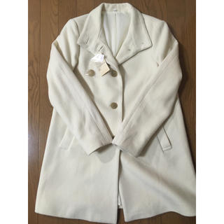 MUJI (無印良品) - 無印良品 白コート