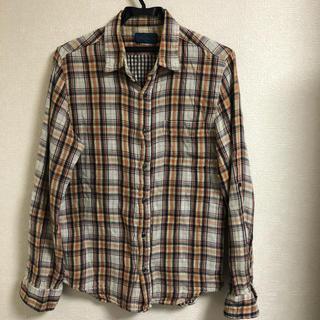 レイジブルー(RAGEBLUE)のレイジブルー ネルシャツ しわ加工 メンズ(シャツ)