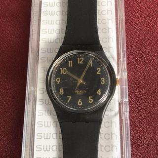 スウォッチ(swatch)の新品♪ シンプル&シック スウォッチ GB274 黒 動作確認済(腕時計)