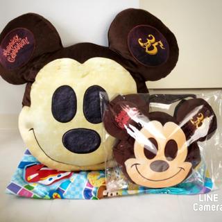 Disney - ディズニー❤️ミッキーパンクッション&ミッキーパンランチケース