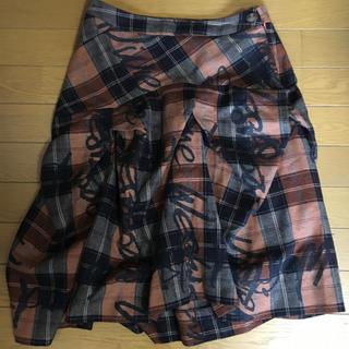 Vivienne Westwood - 値下げ☆VivienneWestwood膝丈変形スカート☆送料無料