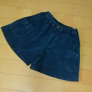 コンビミニ(Combi mini)のコンビミニ リボンポケット コーデュロイ キュロットスカート(スカート)