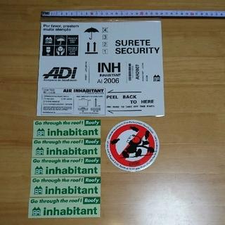 インハビダント(inhabitant)の☆inhabitant  インハビタント ◆ ステッカー セット スノーボード(アクセサリー)