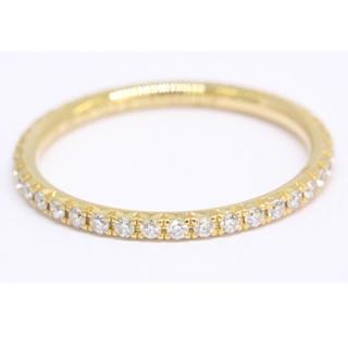 ティファニー(Tiffany & Co.)のティファニーフルエタニティリング6.5号メトロリングYG(リング(指輪))