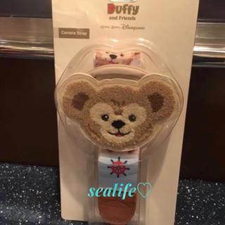 ディズニー(Disney)の香港Disney❣️カメラストラップ ダッフィー♡(その他)