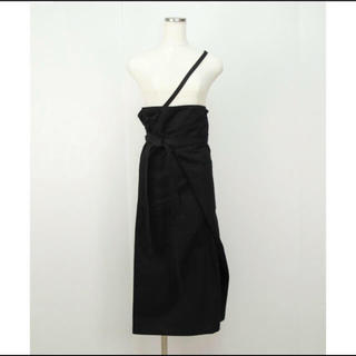 BEAUTY&YOUTH UNITED ARROWS - リトルスージー One Shoulder Strap Sarong Skirt