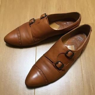 ショセ(chausser)のchausser ショセ ダブルモンク(ローファー/革靴)