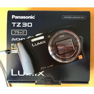 Panasonic - Panasonic  LUMIX  TZ30  ブラック 中古品