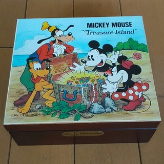 ディズニー(Disney)のミッキーオルゴール×アクセサリーボックス(オルゴール)