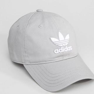 アディダス(adidas)のSale 新品 アディダス adidas キャップ グレー BK7282 帽子(キャップ)