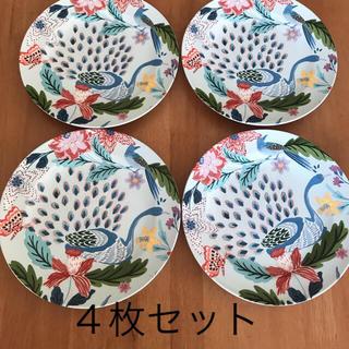 アンソロポロジー(Anthropologie)のアンソロポロジー Anthropologie 新品未使用 お皿 4枚セット(食器)