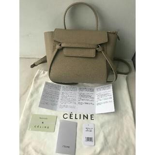 celine - CELINE セリーヌ☆ベルトバッグ マイクロ