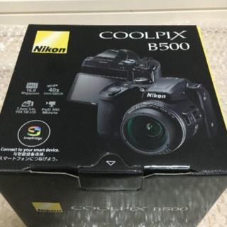 Nikon - 【新品・未開封】5台 ニコン B500BK デジタルカメラ COOLPIX