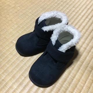 ムジルシリョウヒン(MUJI (無印良品))の無印良品 ボアブーツ 14センチ 美品(ブーツ)