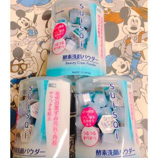 スイサイ(Suisai)のスイサイ酵素洗顔パウダー32個×3個(洗顔料)