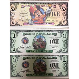 ディズニー(Disney)のディズニードル札(貨幣)
