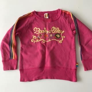 バックアレイ(BACK ALLEY)のブーフーウー バックアレイ トレーナー スエット 110(Tシャツ/カットソー)