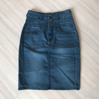 GU - ◆GU◆デニムタイトスカート