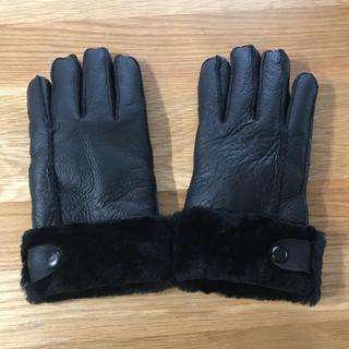 トゥモローランド(TOMORROWLAND)の週末お値下げ 新品未使用 トゥモローランド 本革手袋(手袋)