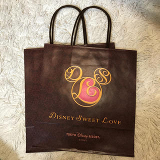 ディズニー(Disney)のディズニーバレンタイン 紙袋(その他)
