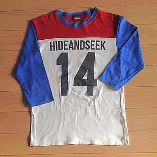 ハイドアンドシーク(HIDE AND SEEK)のHIDE AND SEEK  七分袖  メンズS(Tシャツ/カットソー(七分/長袖))
