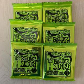 6セット Ernie Ball Regular Slinky #2221(弦)